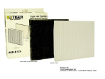TIGER Air Purifier Filter Set (K12S)