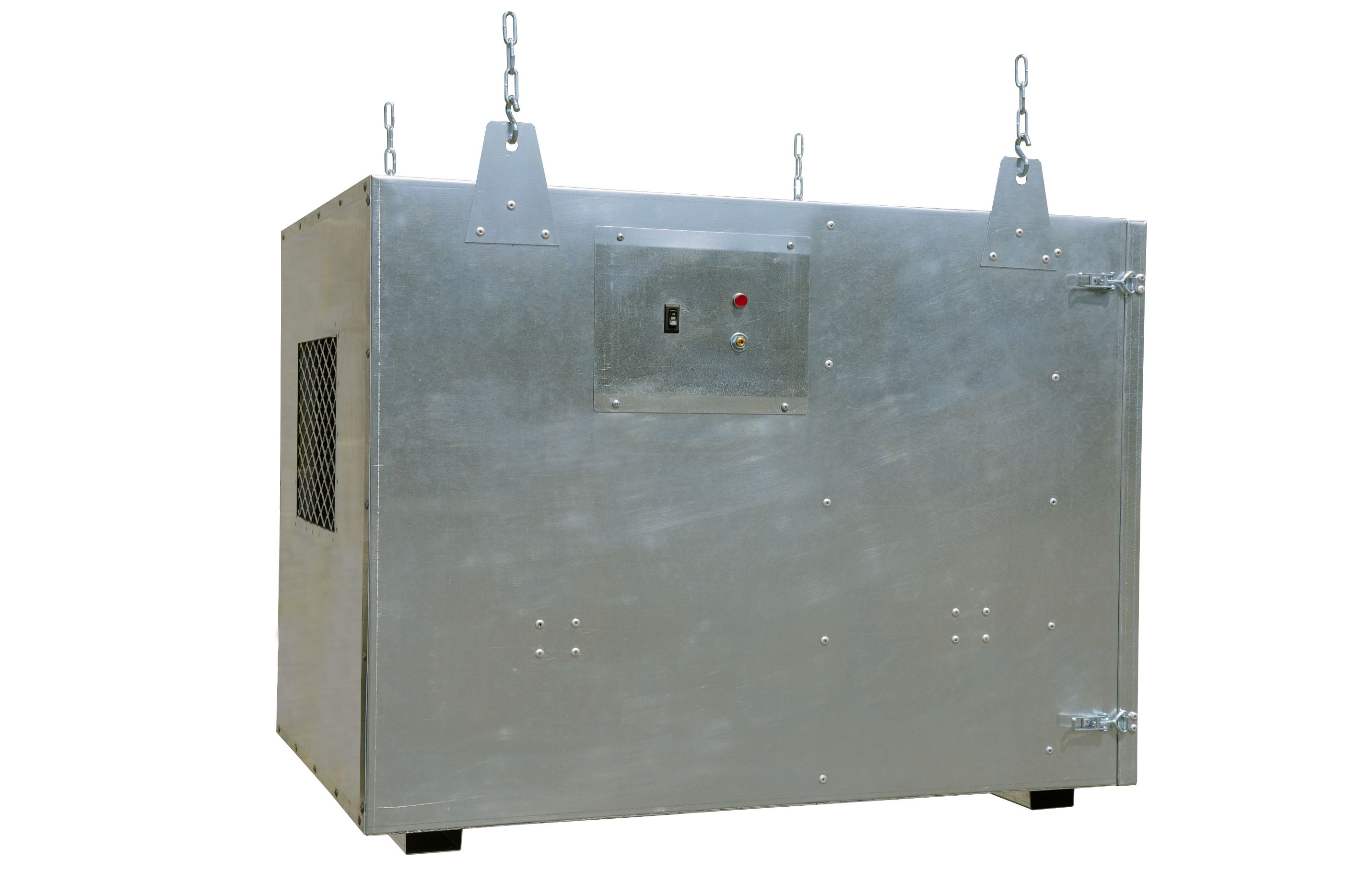 Commercial Air Cleaner Dust : Electrocorp dirty dog dust collector