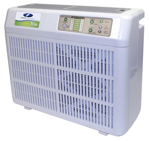 Portable Commercial Air Purifiers : Field controls trio p portable air purifier