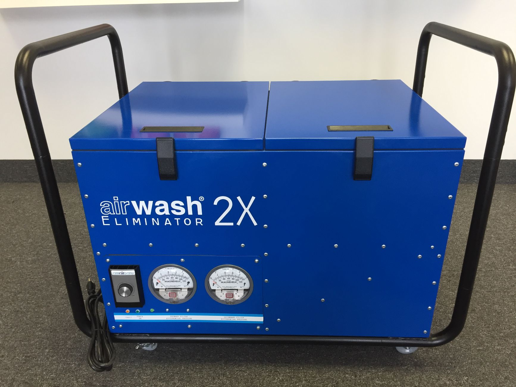 Portable Air Cleaning System : Amaircare airwash eliminator portable air cleaning system