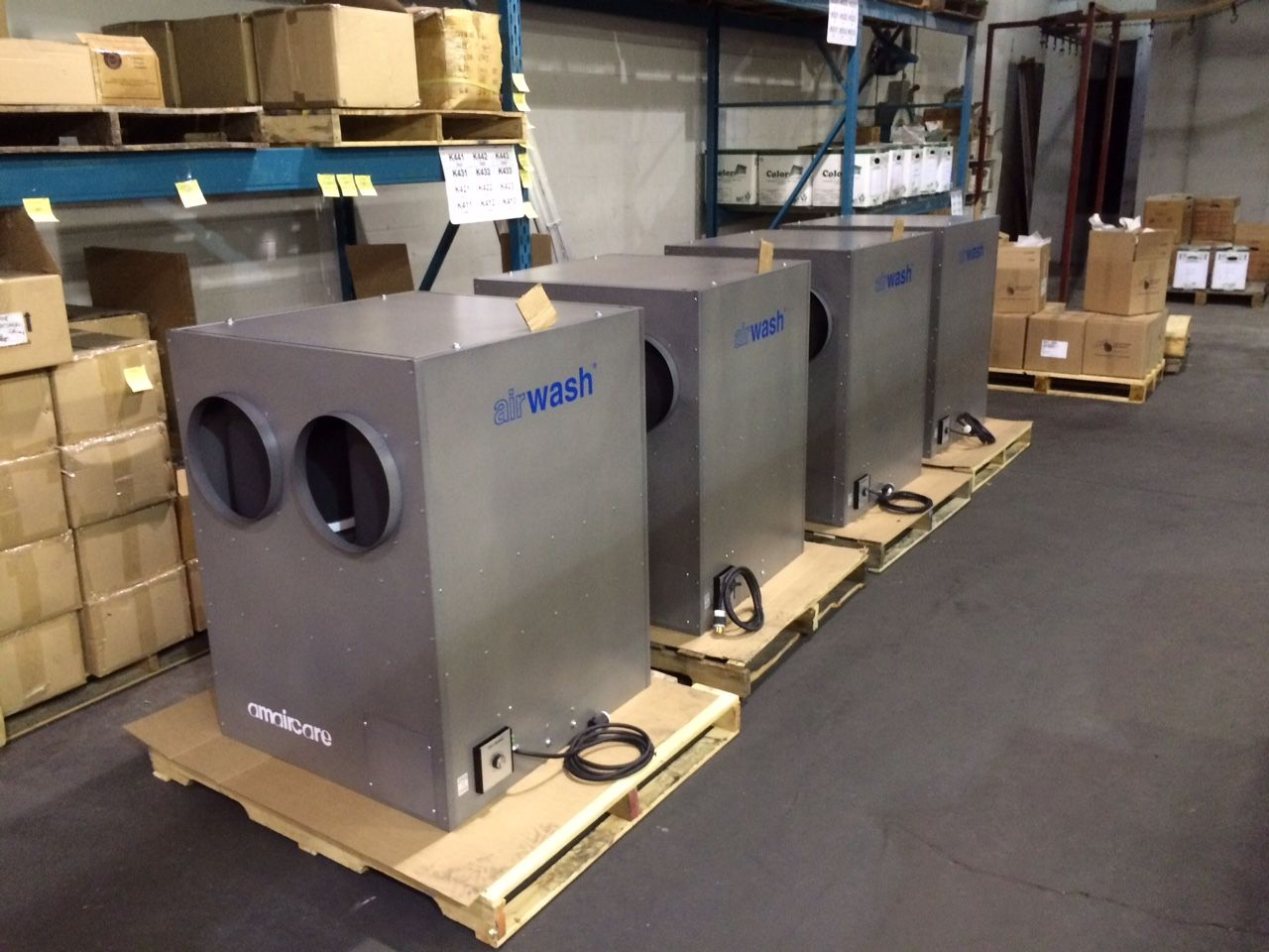 Commercial Air Cleaner Dust : Amaircare is industrial air cleaner
