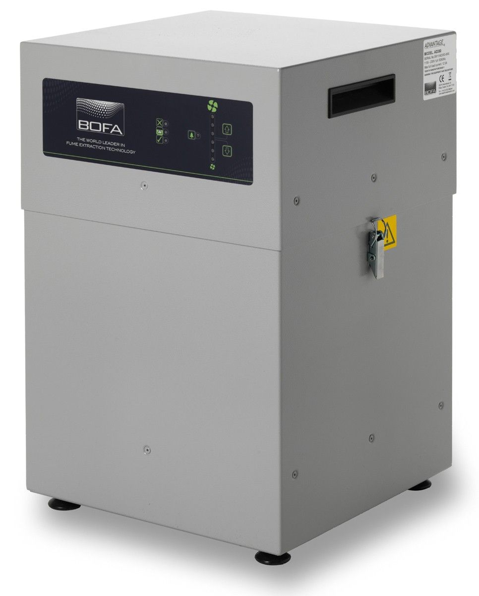Bofa Ad 350 Laser Fume Amp Dust Extraction System