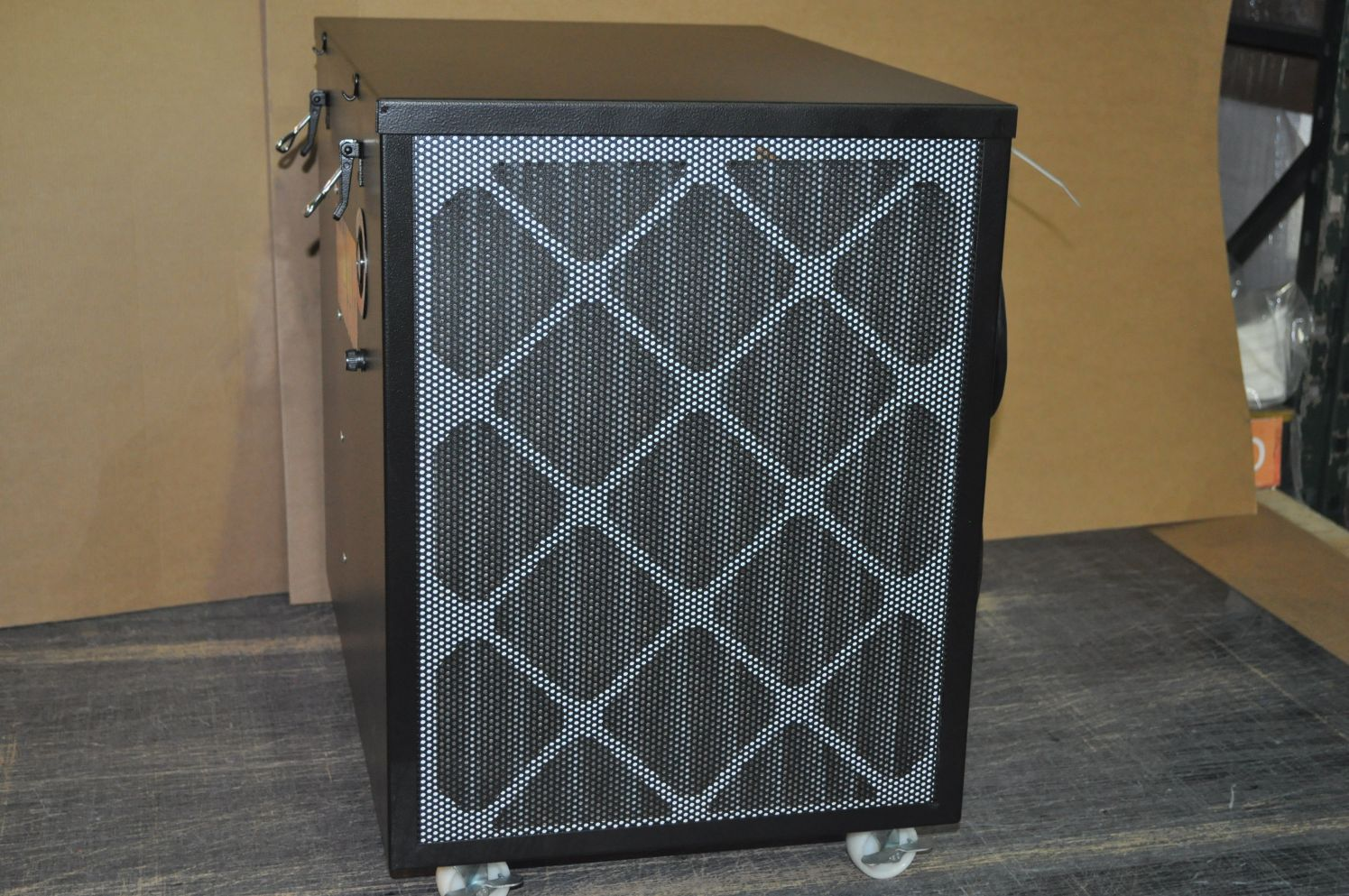 Portable Commercial Air Purifiers : Electrocorp smoke portable air cleaner
