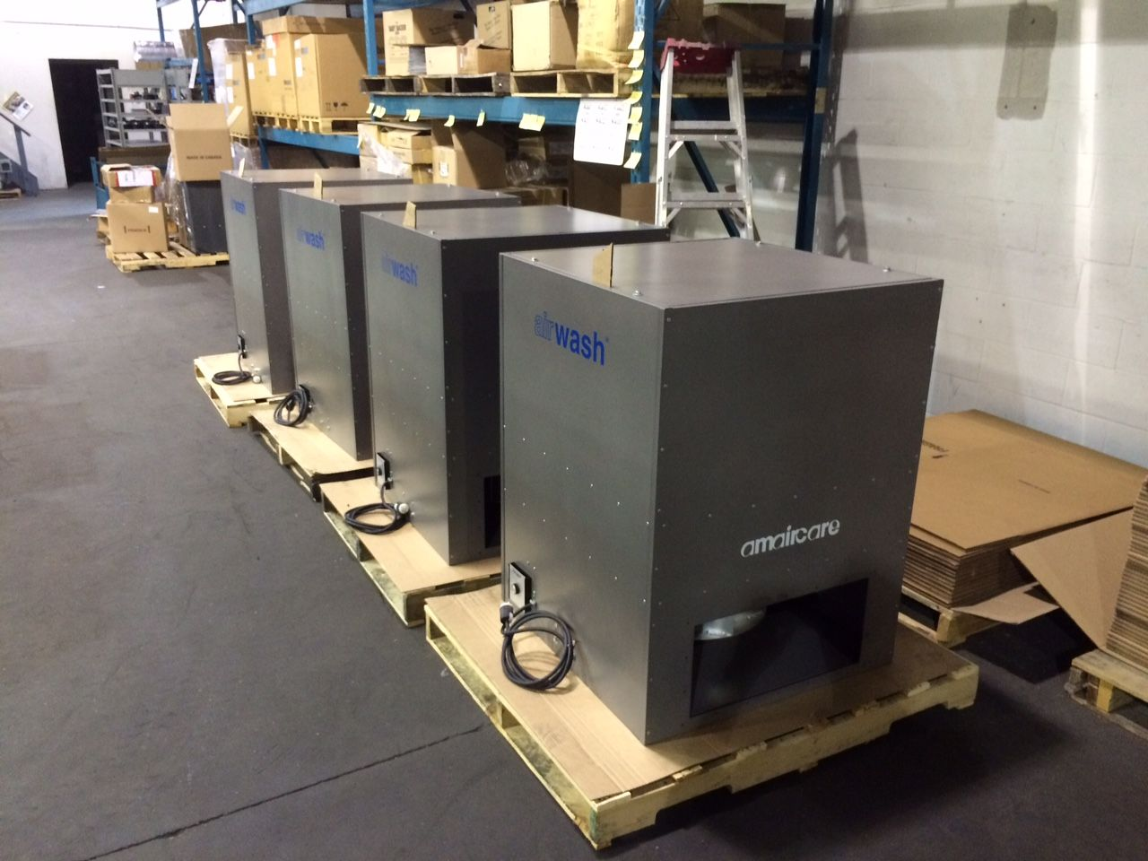 Industrial Air Cleaners : Amaircare is industrial air cleaner