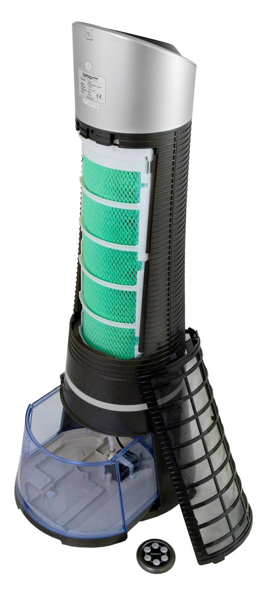 Evaporative Cooler Replacement Pads : Luma comfort ec s tower evaporative cooler