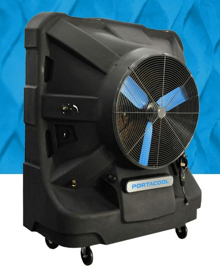 keep work areas cool and comfortable with the portacool jetstream 260 this evaporative cooler features greater airflow and a unique product design that - Portacool
