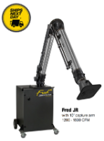 Diversitech FRED JR Portable Smoke, Dust & Fume Extractor