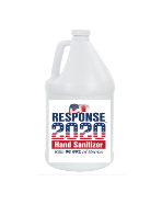 Tri-Chem Response 2020 Antimicrobial Gel Hand Sanitizer - Case 4 -1 Gallon