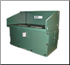 AER APB-4276 3X6 5 HP Powered Bench Downdraft Table