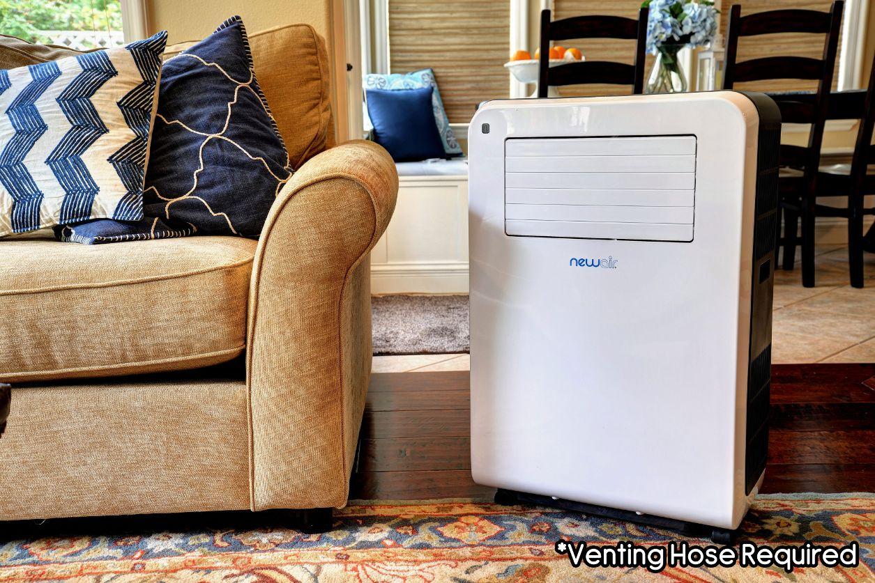 NewAir AC-12200H Portable Air Conditioner Heater