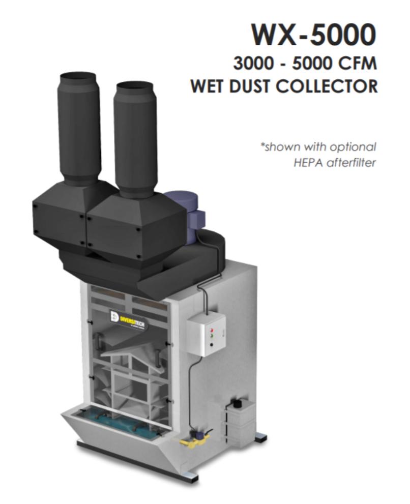 Diversitech Typhoon Wx 5000 Wet Dust Collector